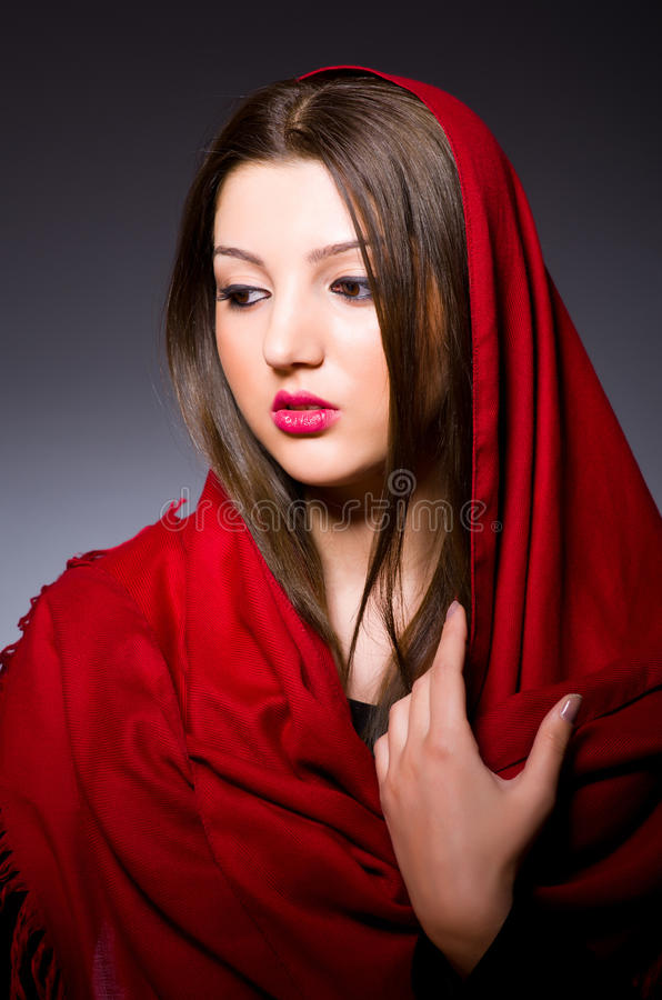Download Muslim Woman With Headscarf Stock Photo - Image: 32218416