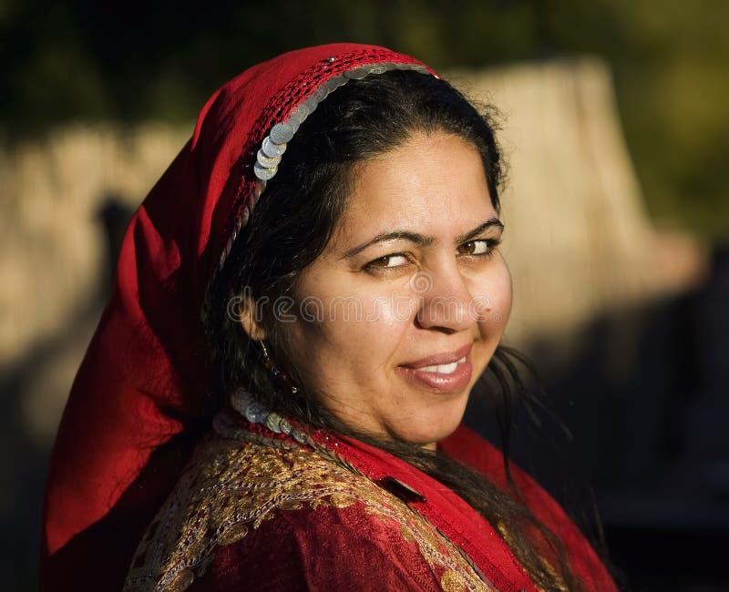 Muslim Woman Outdoors royalty free stock photos
