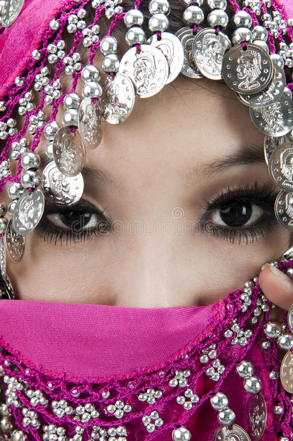 Download Muslim women stock image. Image of looking, mask, middle - 18324223