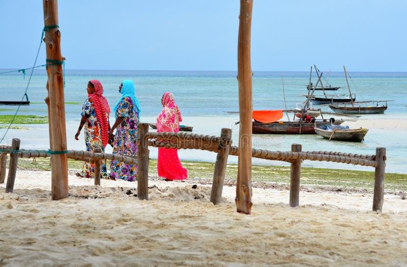 Download Muslim Women In Beautiful Colorful Dresses Editorial Stock Photo - Image: 27910088