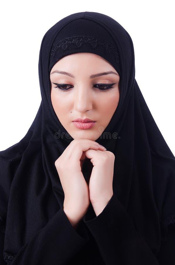 Muslim Young Woman Wearing Hijab Royalty Free Stock Photography