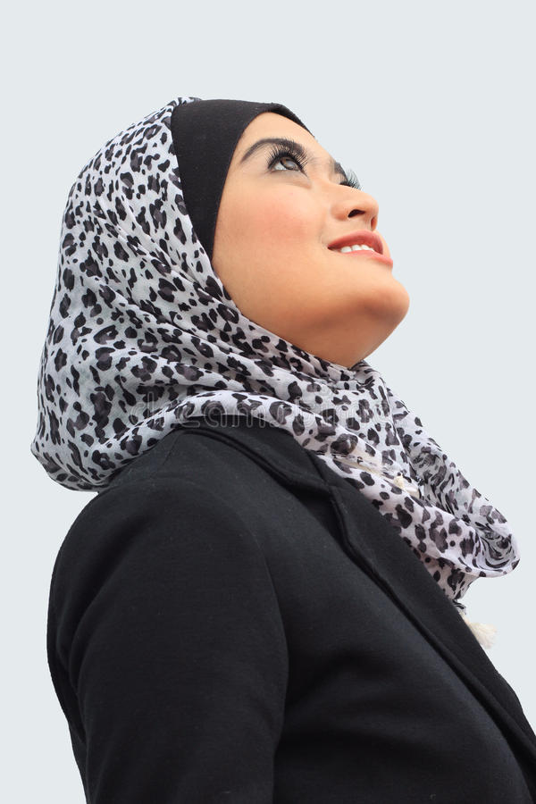 Muslimah business concept royalty free stock image