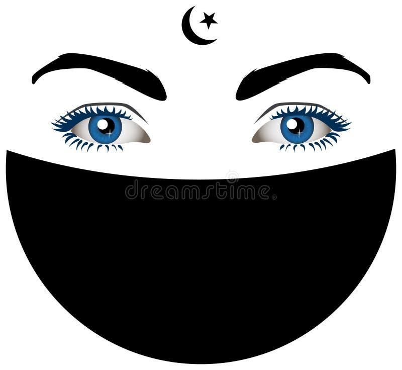 Free Muslimah Eyes Royalty Free Stock Photos - 13044608
