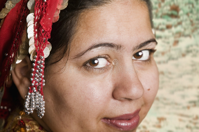 muslimkvinna arkivbild