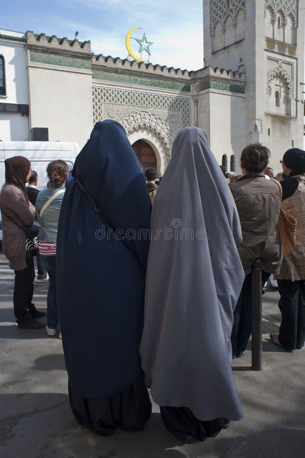 Muslims Demonstrating Against Islamophobie
