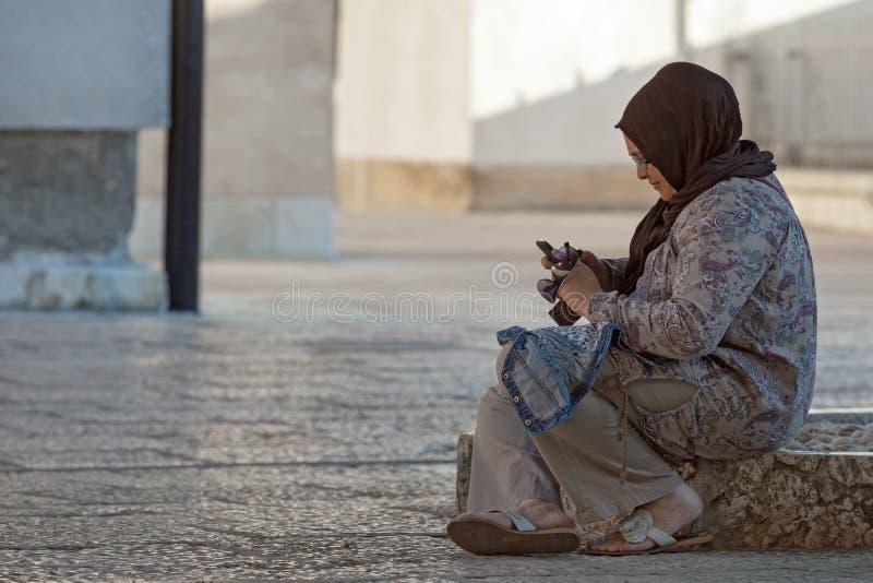Muslimsk kvinna arkivfoto