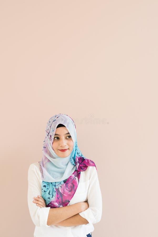 Muslimsk kvinna royaltyfri fotografi