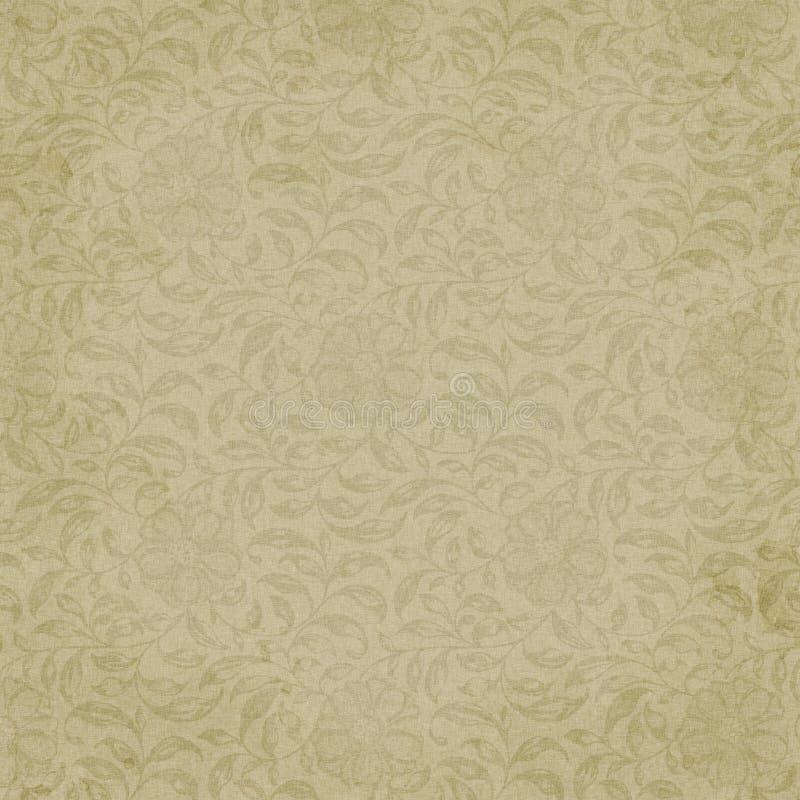 Muslin floral do fundo ilustração do vetor