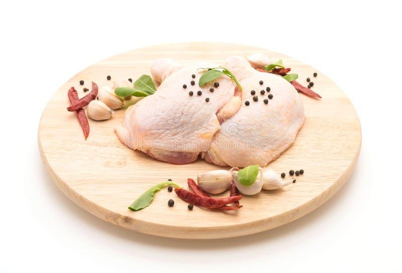 Muslo del pollo fotografía de archivo libre de regalías