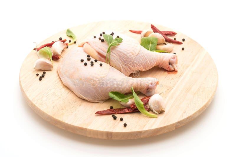 Muslo del pollo imagen de archivo libre de regalías