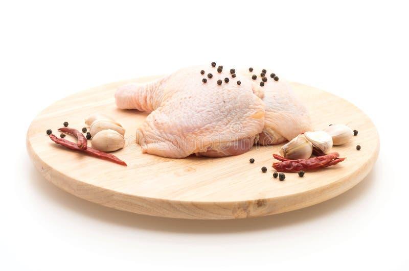 Muslo del pollo fotografía de archivo