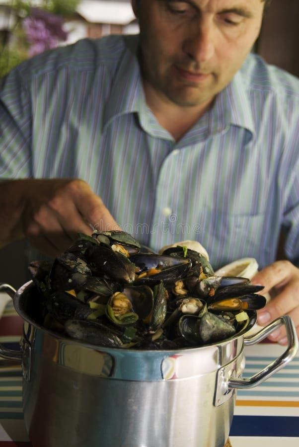 Mussels3 lizenzfreie stockfotografie