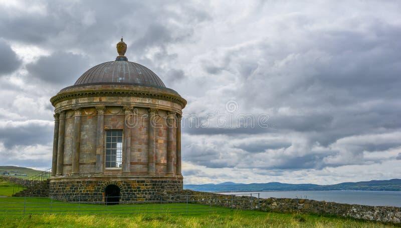 Mussenden-Tempel, Londonderry, Nordirland stockbild