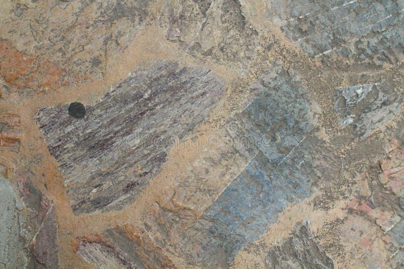 Musslor stenar för väggarna i huset royaltyfria bilder