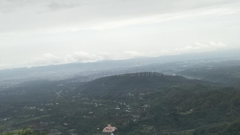Mussorie,印度 免版税图库摄影