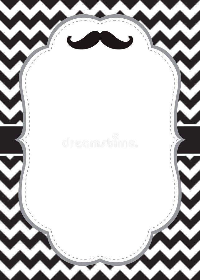 mustache card stock vector illustration of texture happy 42167853