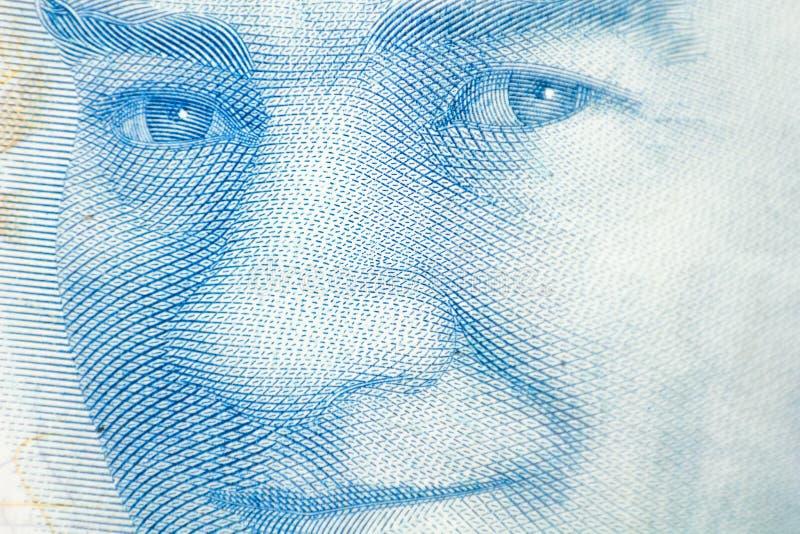 Mustafa Kemal Ataturk Fine turca di valuta dei soldi su fotografia stock libera da diritti