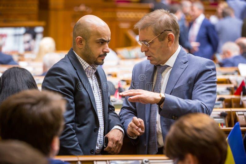 Mustafa Nayyem και Sergei Pashinsky στοκ εικόνες με δικαίωμα ελεύθερης χρήσης