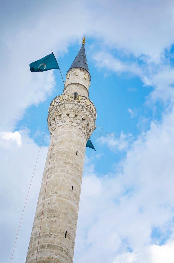 Mustafa Pasha moské i Skopje, Makedonien royaltyfri bild
