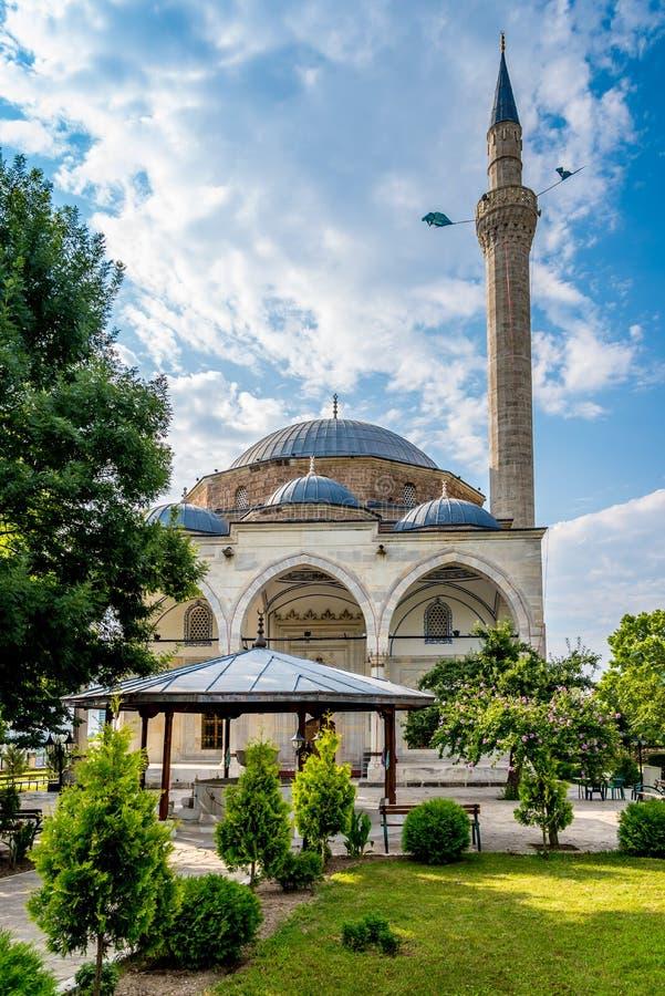 Mustafa Pasha Mosque royaltyfri foto
