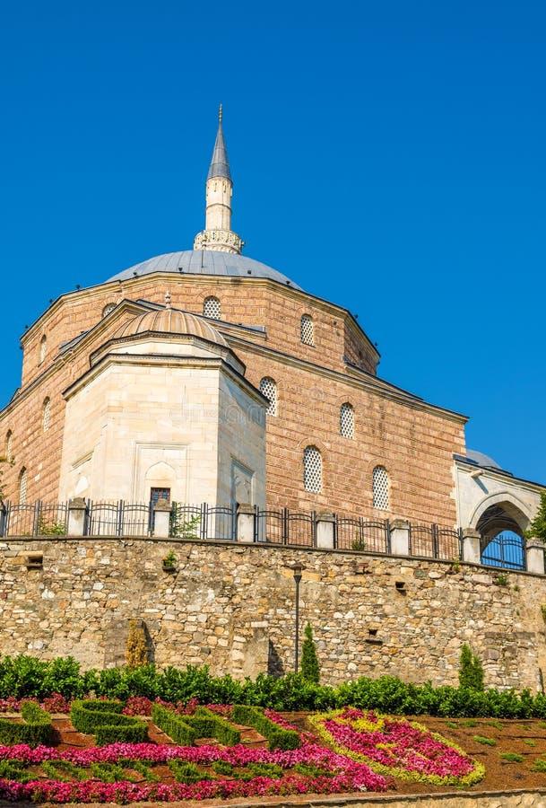Mustafa Pasha Mosque i Skopje royaltyfri foto