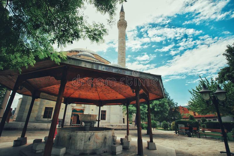 Mustafa Pasha Mosque Skopje. Mustafa Pasha Mosque royalty free stock images