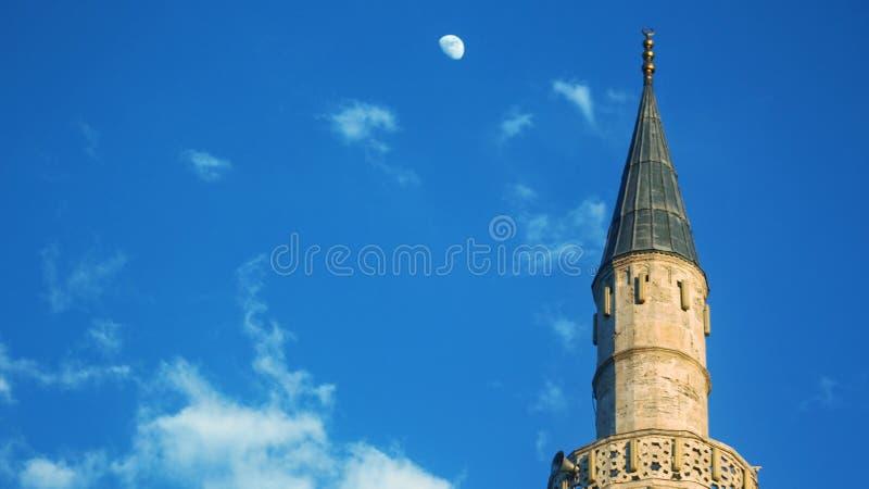 Mustafa Pasha Mosque Skopje immagini stock libere da diritti