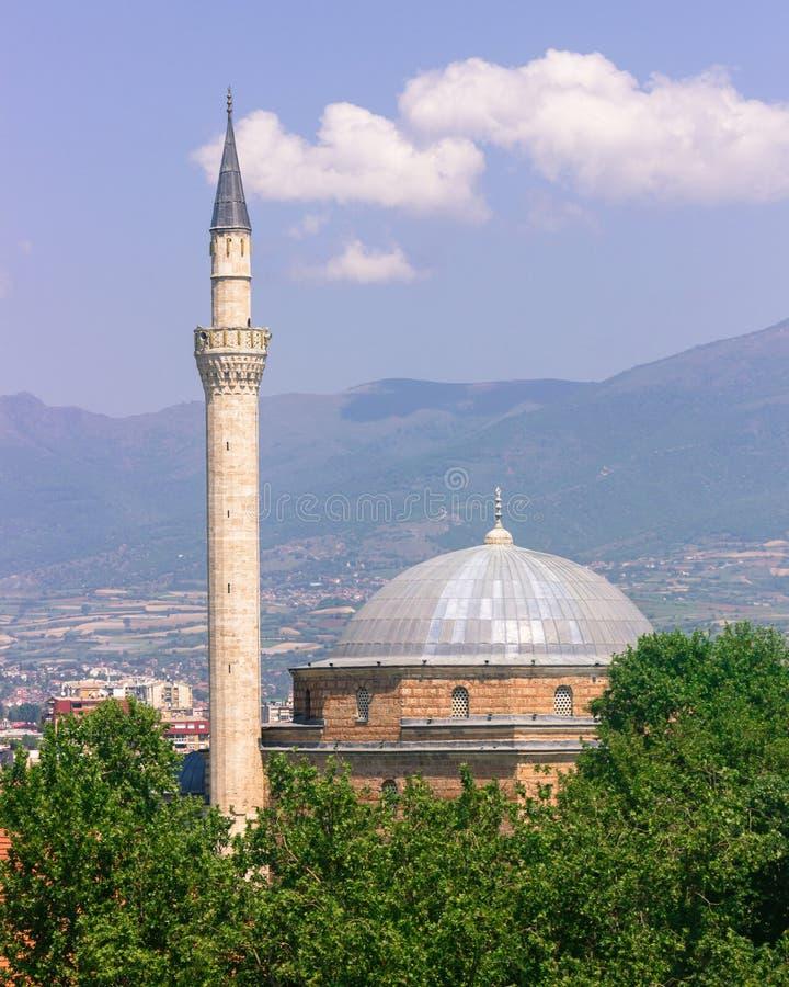 Mustafa Pasha Mosque Skopje, Makedonien royaltyfria bilder