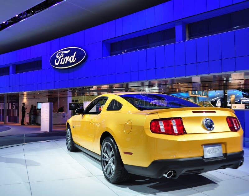 Mustang 2011 de Ford 5.0 imagens de stock royalty free