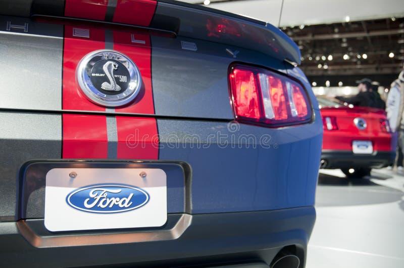 Mustang 2011 de Ford no NAIAS imagem de stock