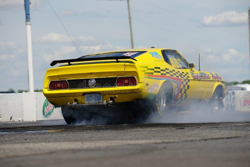 Mustang 1971 fotografie stock libere da diritti