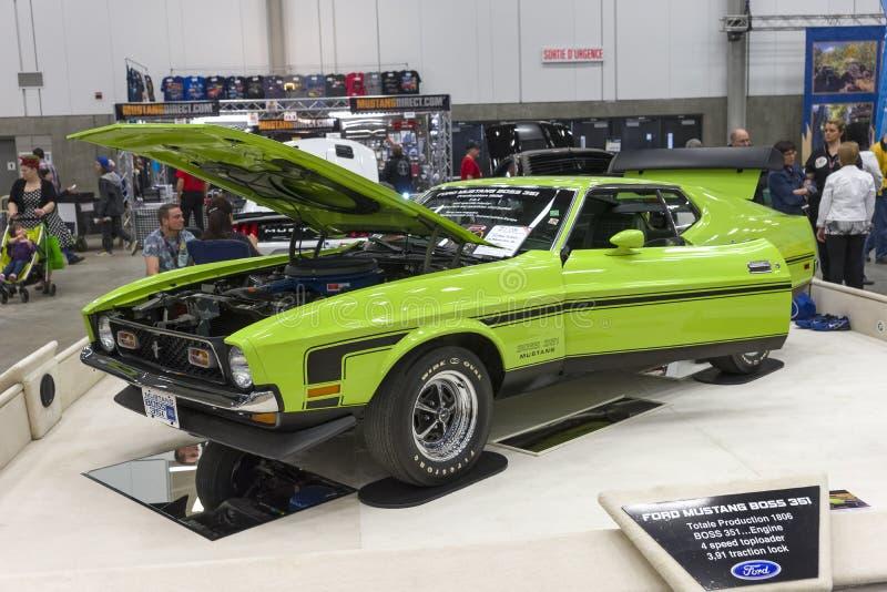 Mustang boss 351 stock photos