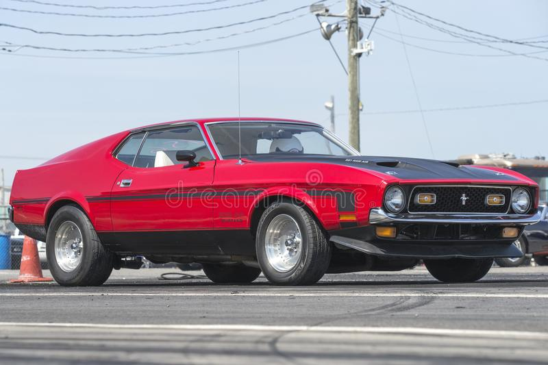 Mustang boss 351 stock images