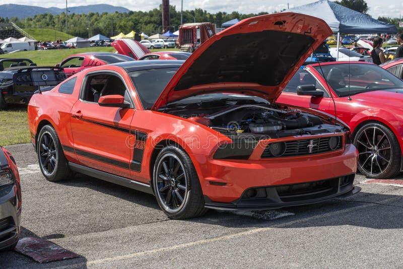 Mustang boss 302 stock photography