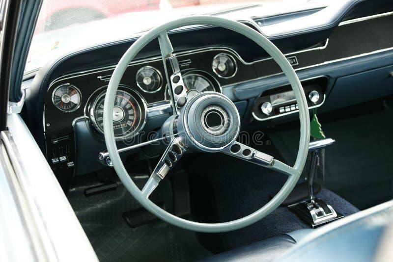 Mustang Dashboard stock photos