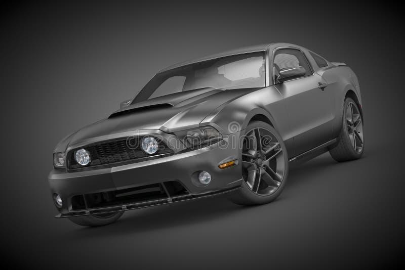 Mustang de Ford (2010) illustration de vecteur