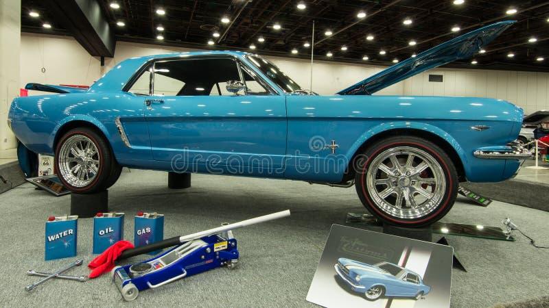 Mustang 1965 de Ford imagens de stock royalty free