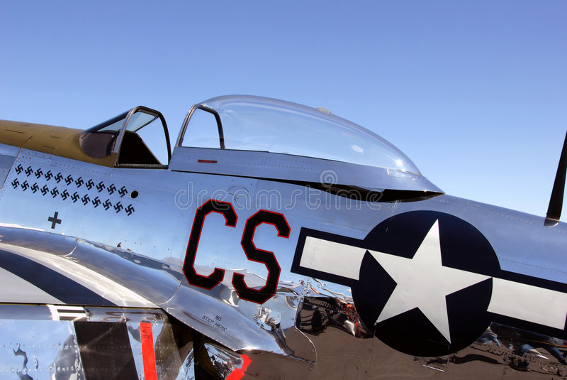 Mustang di P 51 immagine stock libera da diritti