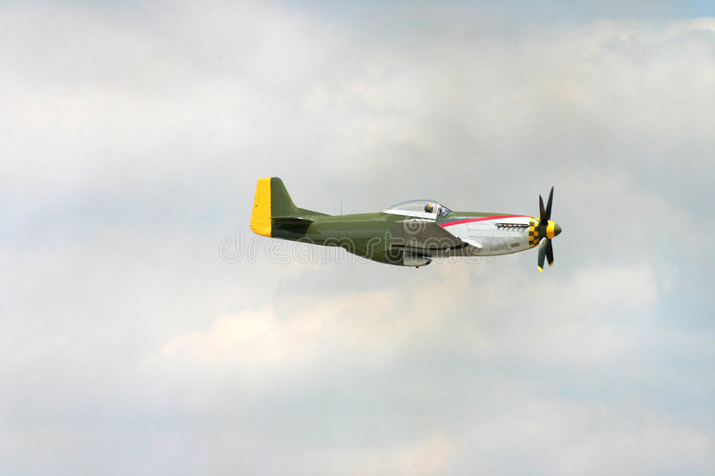Download Mustang Figher stock image. Image of clouds, smoke, airshow - 6177937
