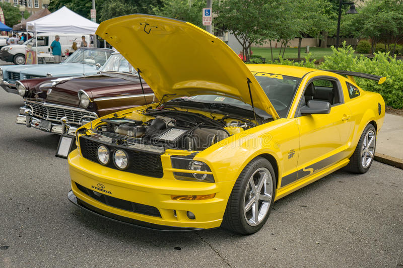 Mustang 2006 GT image stock