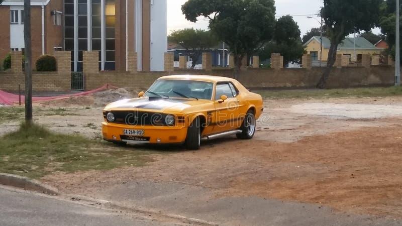 Mustang GT stock afbeelding