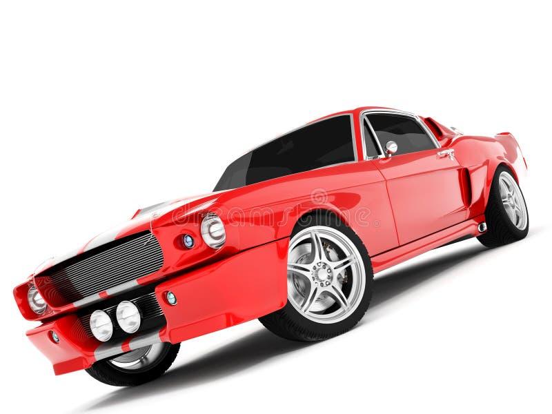 Mustang GT500 de Shelby fotografia de stock royalty free