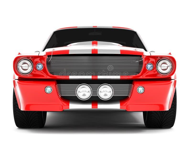 Mustang GT500 de Shelby imagem de stock royalty free