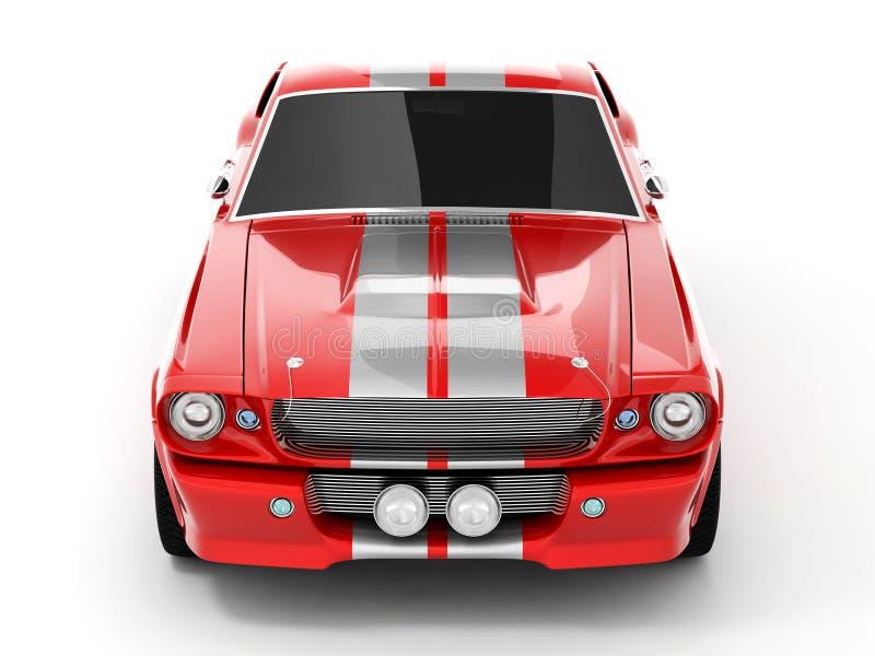 Mustang GT500 de Shelby foto de stock