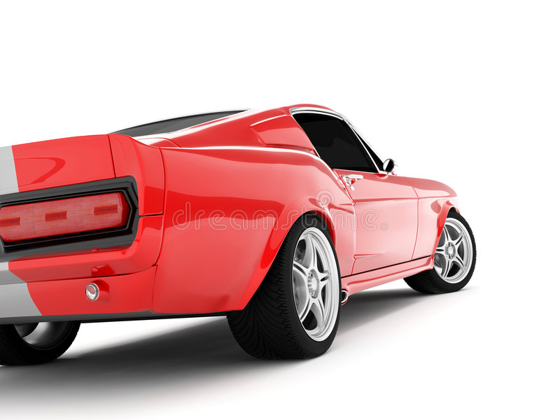 Mustang GT500 di Shelby fotografia stock libera da diritti