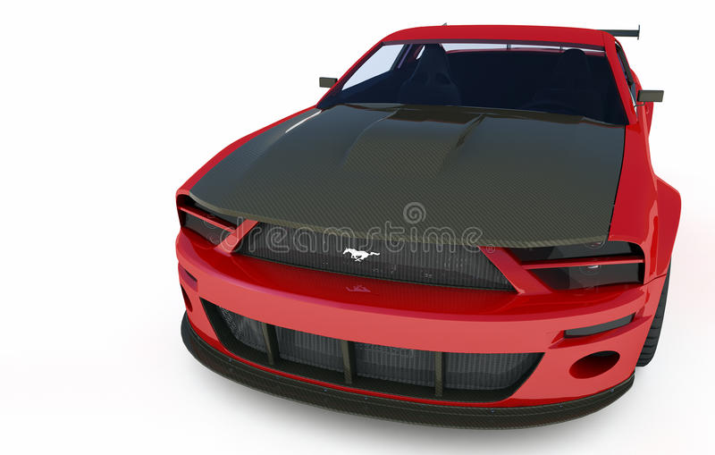 Mustang GTR royalty free stock photos