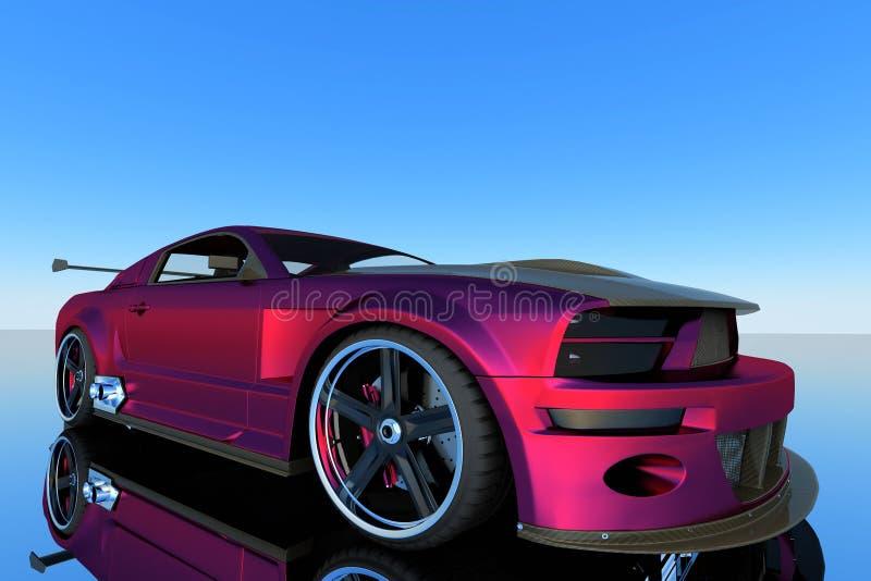 Mustang GTR imagens de stock