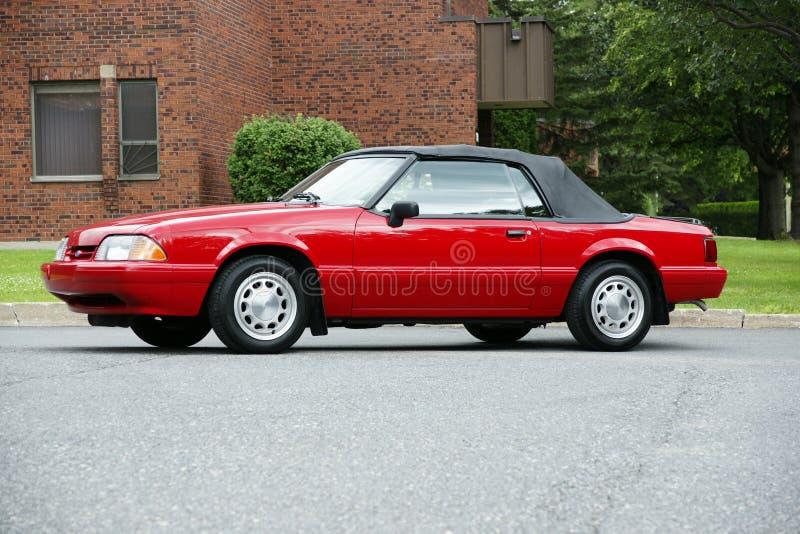 Mustang-Kabriolett lizenzfreie stockfotos