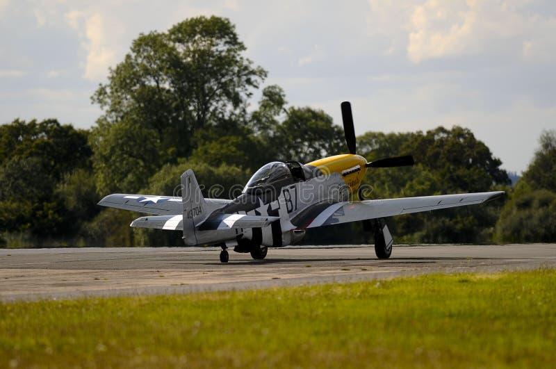 Mustang P-51D imagens de stock royalty free