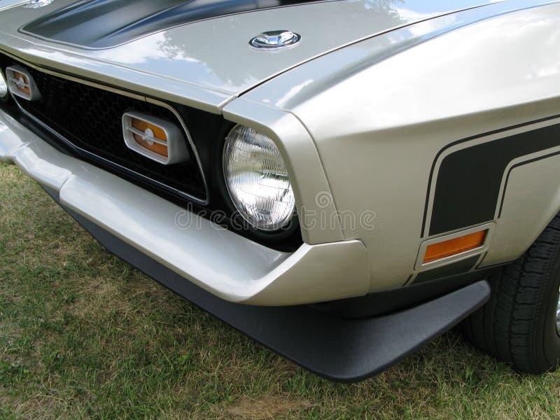 Mustang-Vorderseite stockfotografie
